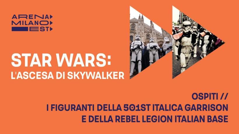 Cinema nel weekend: l'ascesa di Skywalker all'Arena Milano Est
