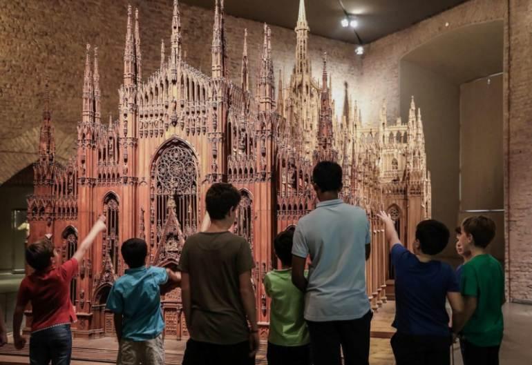 cosa fare sabato 26 settembre a Milano: visita al Duomo per bambin