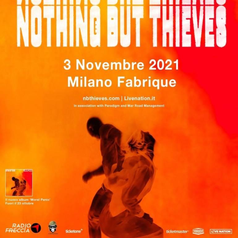 Concerti a Milano: Nothing But Thieves live al Fabrique mercoledì 3 novembre 2021