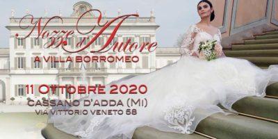 Nozze d'Autore a Villa Borromeo 2020: l'11 ottobre ottava edizione della fiera sposi di Sposimmagine