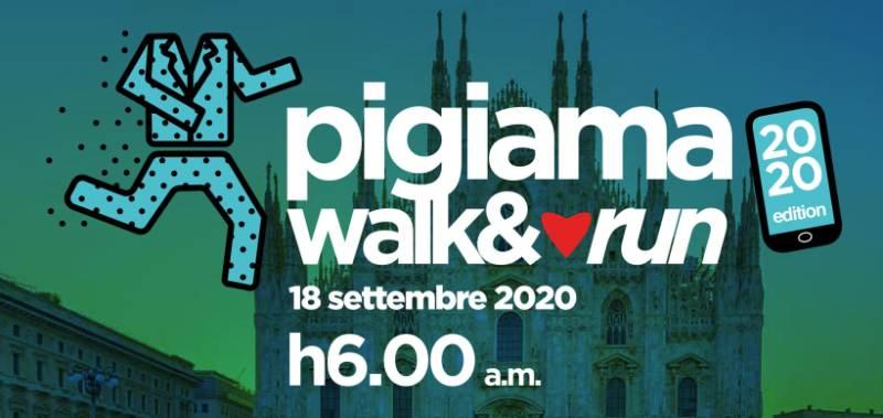 cosa fare a Milano venerdì 18 settembre: Pigiama Walk and Run