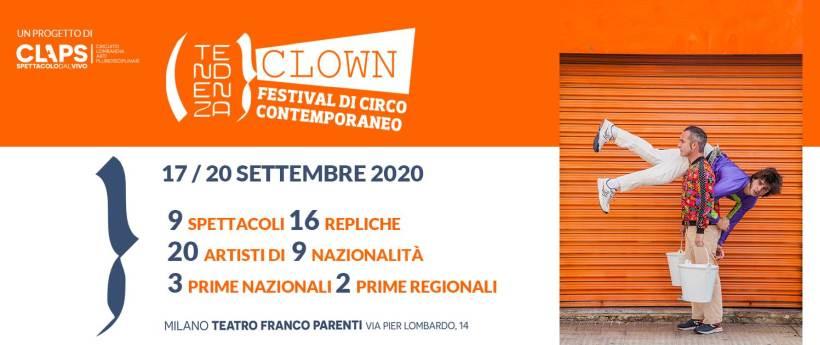 Tendenza Clown 2020 - Festival di Circo contemporaneo a Milano