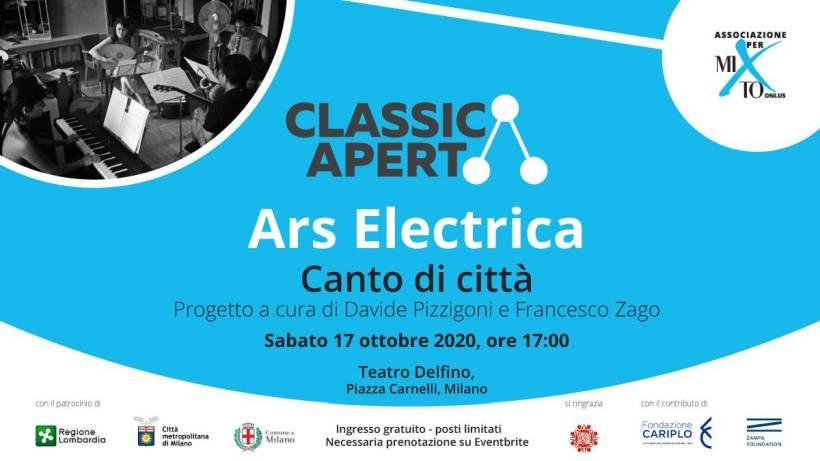 cosa fare a Milano sabato 17 ottobre: Ars Electrica – Canto di città