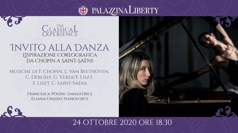 Sabato 24 ottobre in Palazzina Liberty a Milano un concerto ricco di fascino targato TheClassicalExperience. Biglietti in sconto per i lettori di Eventiatmilano.it