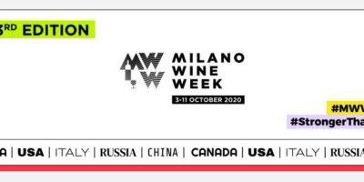 Milano Wine Week 2020: eventi in programma dal 3 al 11 ottobre