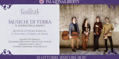 #TheClassicalExperience, concerti a Milano: sabato 10 ottobre Musiche di Terra. Il suono delle radici
