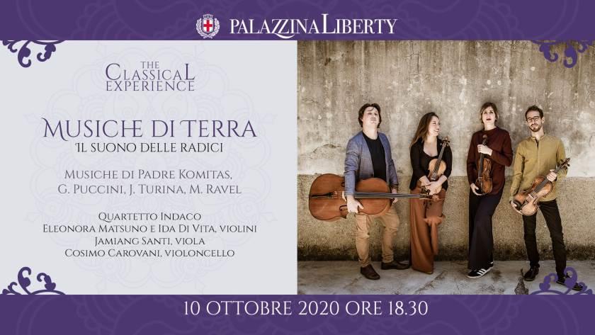 cosa fare a Milano sabato 10 ottobre: concerto Musiche di Terra. Il suono delle radici
