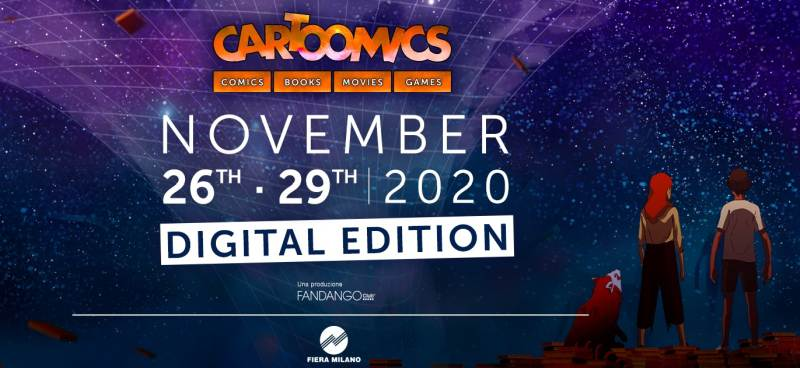 Fino a domenica 29 novembre: Cartoomics 2020 Digital Edition e Milan Games Week