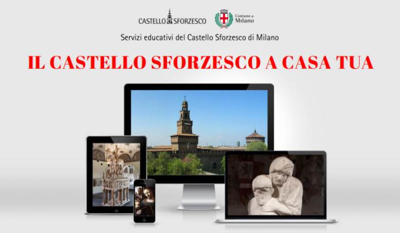 Il Castello Sforzesco a casa tua: eventi online per famiglie con bambini e adolescenti