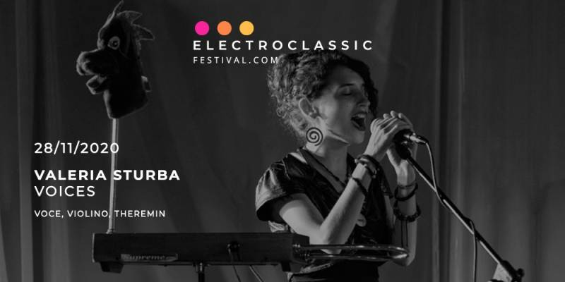 Electroclassic Festival Milano: Valeria Sturba in concerto