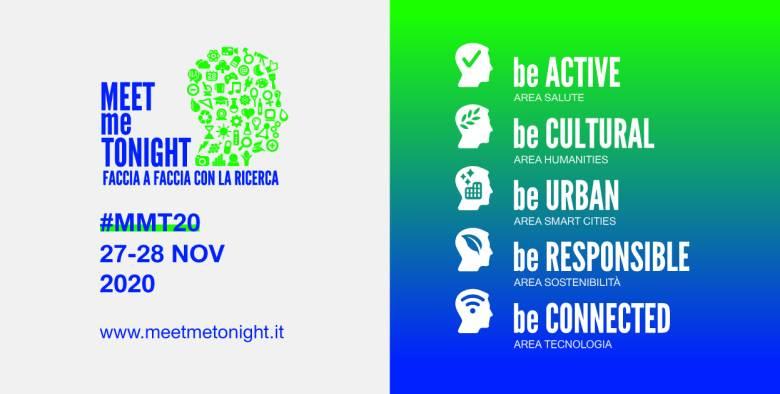 Il 27 e 28 novembre torna MEETmeTONIGHT 2020 - Notte Europea dei ricercatori