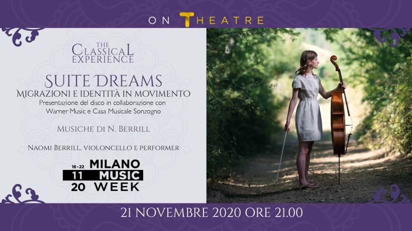 Suite Dreams - Naomi Berrill in concerto locandina