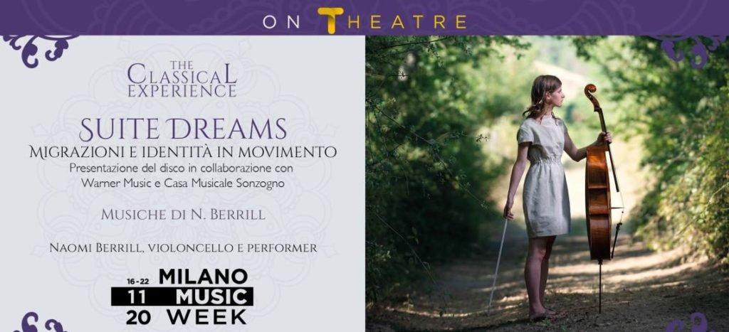 Suite Dreams - Naomi Berrill in concerto per la Milano Music Week