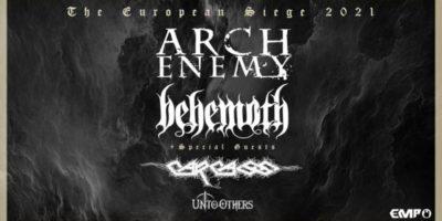 Concerti a Milano: Arch Enemy, Behemoth e Carcass live all'Alcatraz