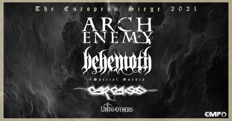 Concerti a Milano: Arch Enemy, Behemoth e Carcass live all'Alcatraz