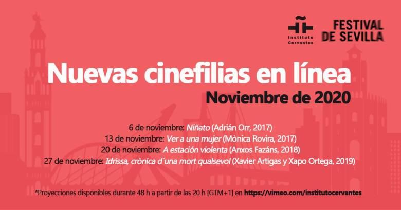 Nuove Cinefilie insituto cervantes Milano