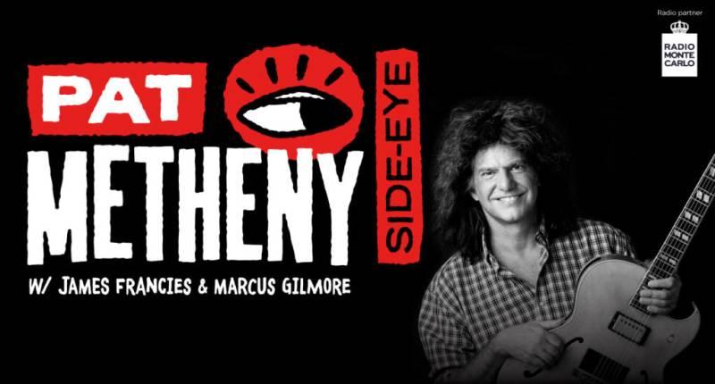 Pat Metheny Side-Eye Tour: tappa al Teatro degli Arcimboldi di Milano nel 2021