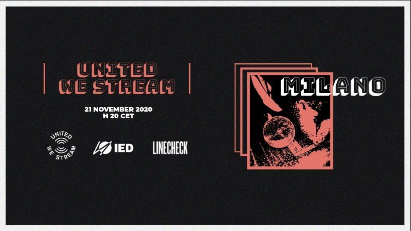 Sabato 21 novembre: Queercheck United We stream Milan
