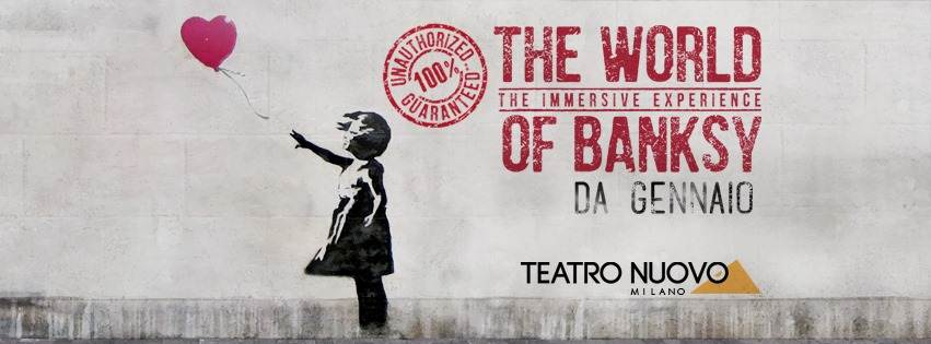 Mostre a Milano: The World of Banksy - The immersive experience