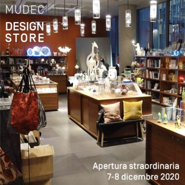 Sant'Ambrogio: apertura straordinaria del Mudec Design Store a Milano