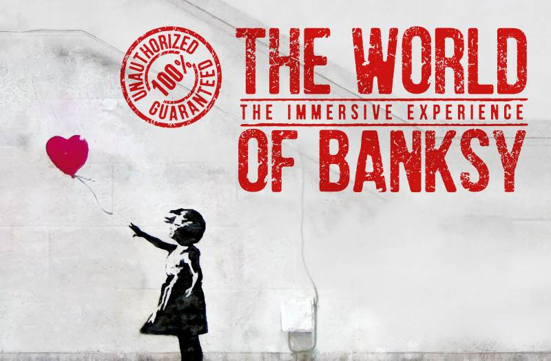 Mostre a Milano: The World of Banksy – The immersive experience