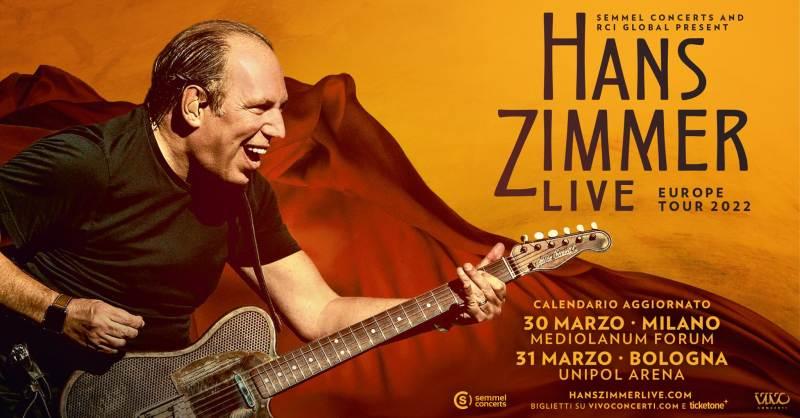 Covid-19, concerti rinviati a Milano: slitta al 2022 il live di Hans Zimmer live al Mediolanum Forum