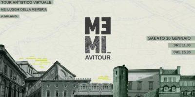 Sabato 30 gennaio il MEMI Artistic Virtual Tour - Tour artistico virtuale nei luoghi della Memoria a Milano
