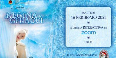 La Regina dei Ghiacci: gioco teatrale interattivo online il 16 febbraio