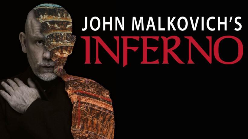 John Malkovich's Inferno al Teatro Arcimboldi di Milano: prevendite biglietti aperte