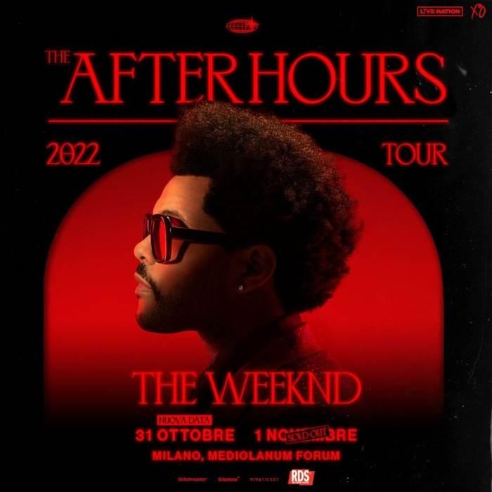 nnunciata anche una seconda data per il The After Hours World Tour, con Prevendite biglietti aperte su Ticketone dalle ore 11 del 3 marzo.
