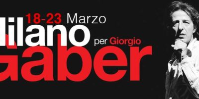 Milano per Gaber: programma di appuntamenti in digitale dal 18 al 23 marzo