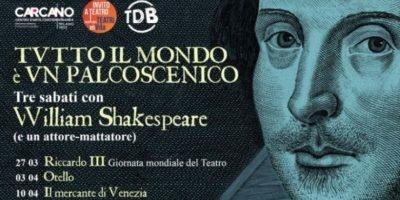 Il Teatro Carcano di Milano partecipa alla Giornata Mondiale del Teatro 2021