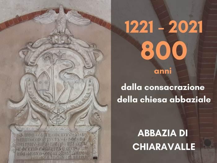 Abbazia di Chiaravalle: celebrazione 800 anni