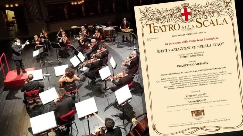 Il Teatro alla Scala, per mezzo della sua Sezione ANPI, omaggia Milano celebrando il giorno della Liberazione
