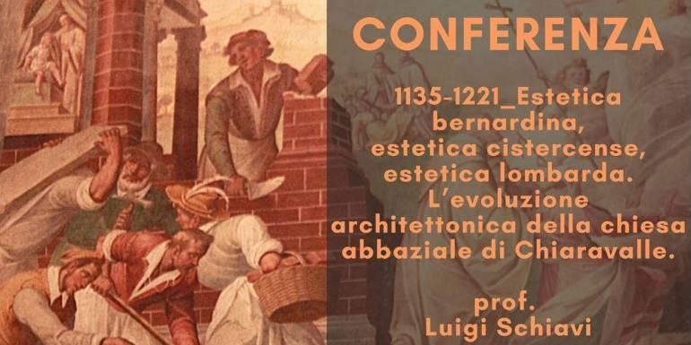 Conferenza online L'evoluzione architettonica della chiesa abbaziale di Chiaravalle