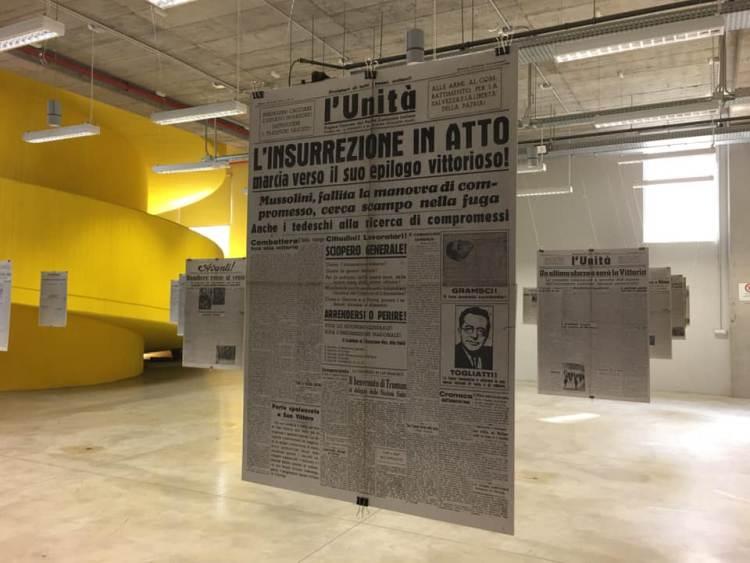 """La Casa della Memoria Milano celebra il 25 aprile con la mostra """"Prime pagine di Milano libera. La Liberazione nei giornali della primavera 1945"""""""