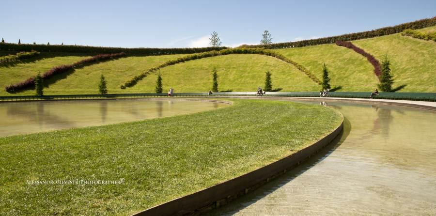 Panchina più lunga del mondo a Milano, Parco Portello