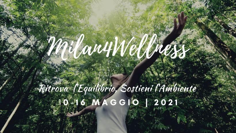 A Milano nasce l'iniziativa green Milan4Wellness