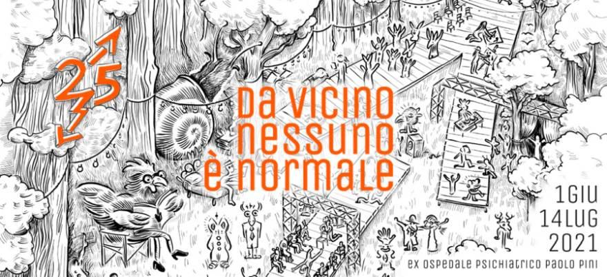 Da vicino nessuno è normale – XXV edizione a Milano dal 1 giugno al 14 luglio