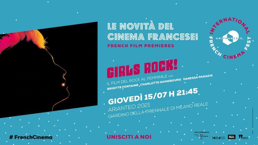 Girls rock! In anteprima alla Triennale di Milano il film con Vanessa Paradis