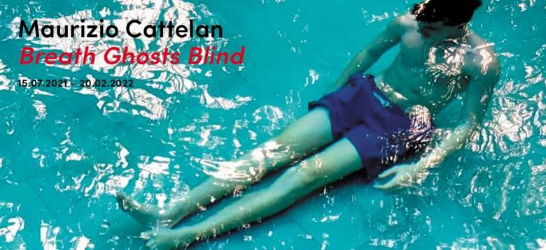 MAURIZIO CATTELAN - Breath Ghosts Blind: primo weekend di apertura per la nuova mostra a Milano