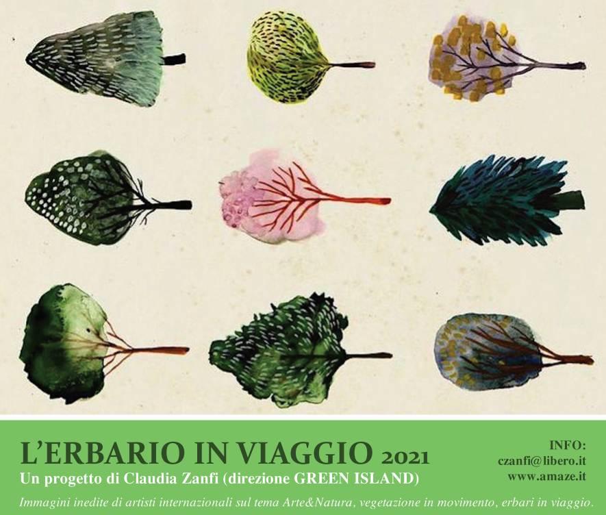 Green Island 2021 Milano Design Week - L'erbario in viaggio, a cura di Claudia Zanfi / Atelier del Paesaggio