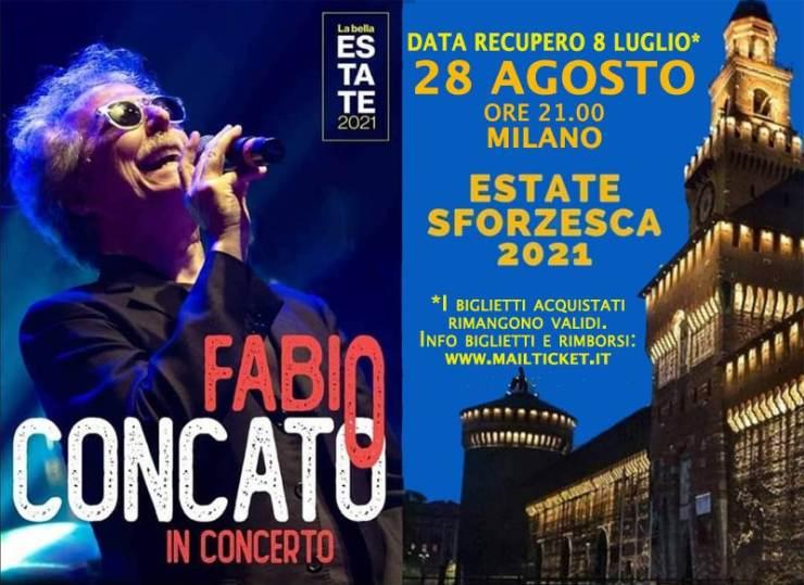 cosa fare sabato 28 agosto a Milano: concerto Fabio Concato