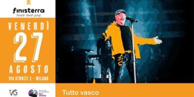 Tribute Vasco Rossi al Finisterra Village di Milano
