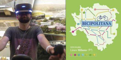 La Bicipolitana a Milano in mostra con la realtà aumentata all'Istituto Numen
