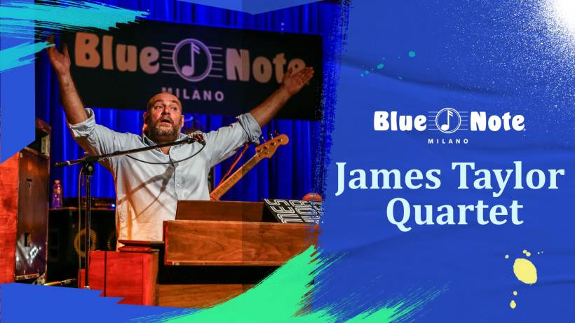 James Taylor Quartet live al Blue Note Milano