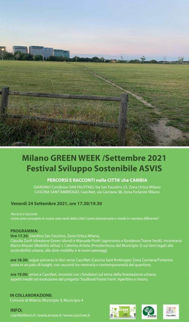 Milano Green Week - Percorsi e racconti nella città che cambia