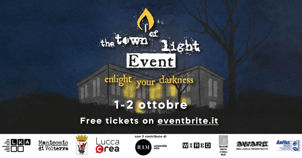 Venerdì 1 e sabato 2 ottobre a Milano The Town of Light Event, un appuntamento inclusivo ricco di attività immersive