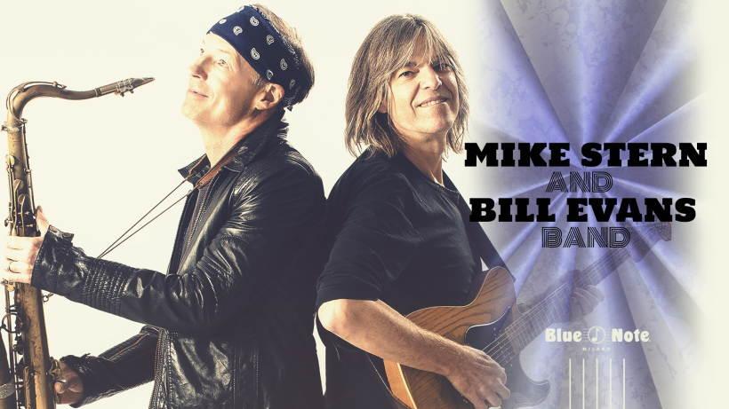 Mike Stern e Bill Evans in concerto al Blue Note Milano venerdì 15 ottobre
