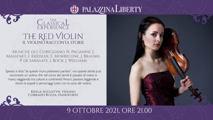 Concerto Red Violin di Milano Classica in Palazzina Liberty
